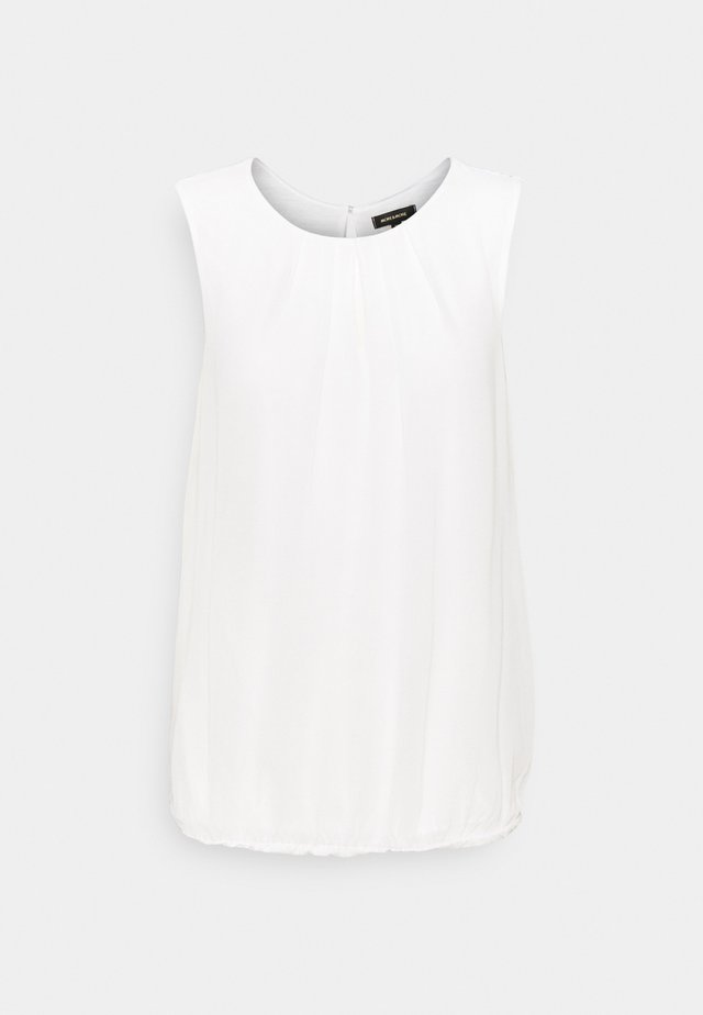 BLOUSE NON SLEEVE - Top - off-white