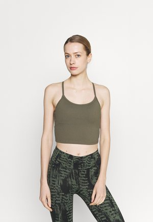STRAPPY VESTLETTE - Top - deep moss