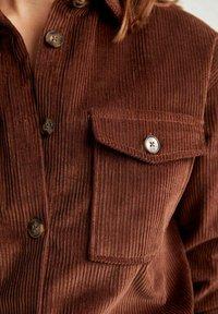 DeFacto - Button-down blouse - brown - 5