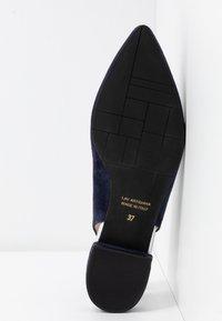 Maripé - Slingback ballet pumps - dark blue - 6