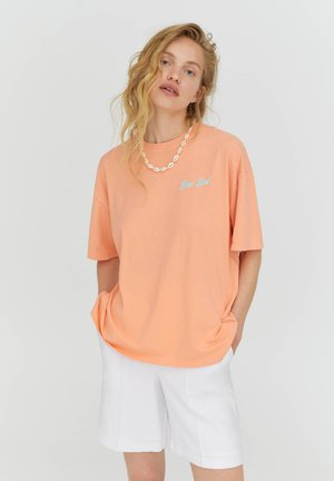T-shirt basic - rose
