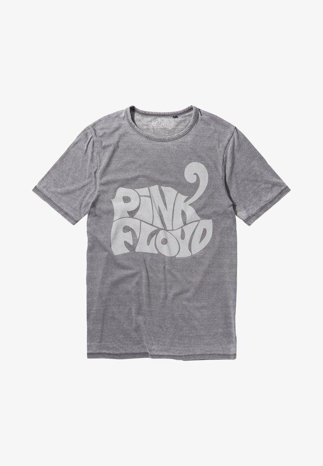 FLOYD ANIMALS - T-shirt print - grau
