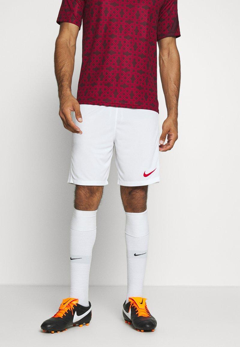 Nike Performance - TÜRKEI SHORT - Sports shorts - white/sport red
