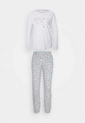 Pyjama set - medium grey melange