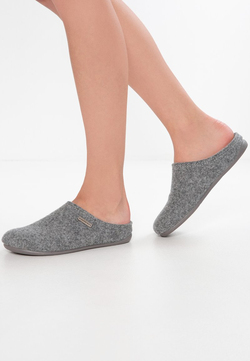 Shepherd - CILLA - Slippers - grey