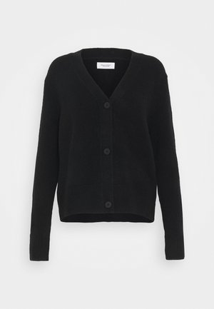 LONG SLEEVE - Chaqueta de punto - black