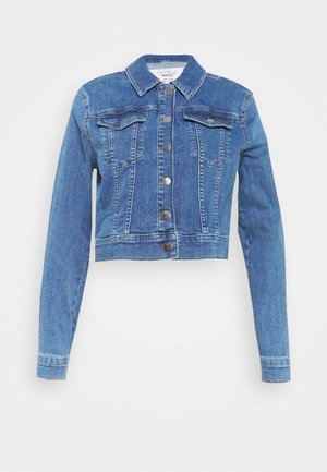 PAMELA REIF X NA-KD JACKET - Denim jacket - light blue