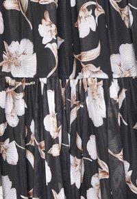 Vila - VIDAVIS MIDI SKIRT - A-line skirt - black - 2