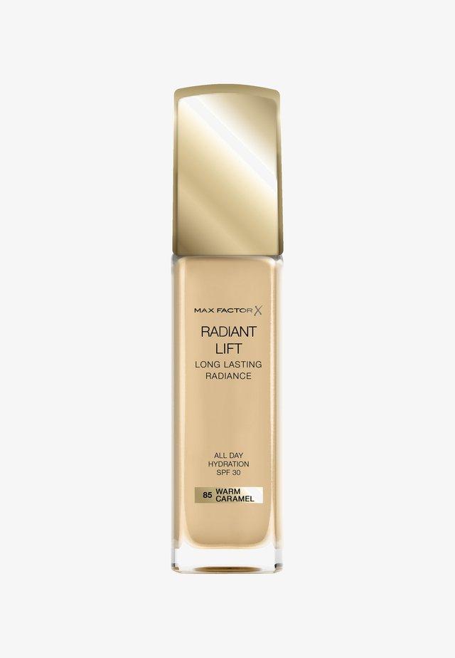 RADIANT LIFT FOUNDATION - Foundation - 85 warm caramel