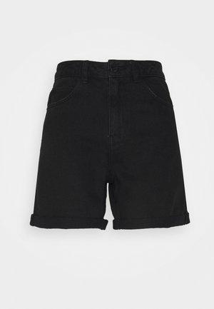 VMNINETEEN MIX - Jeansshort - black