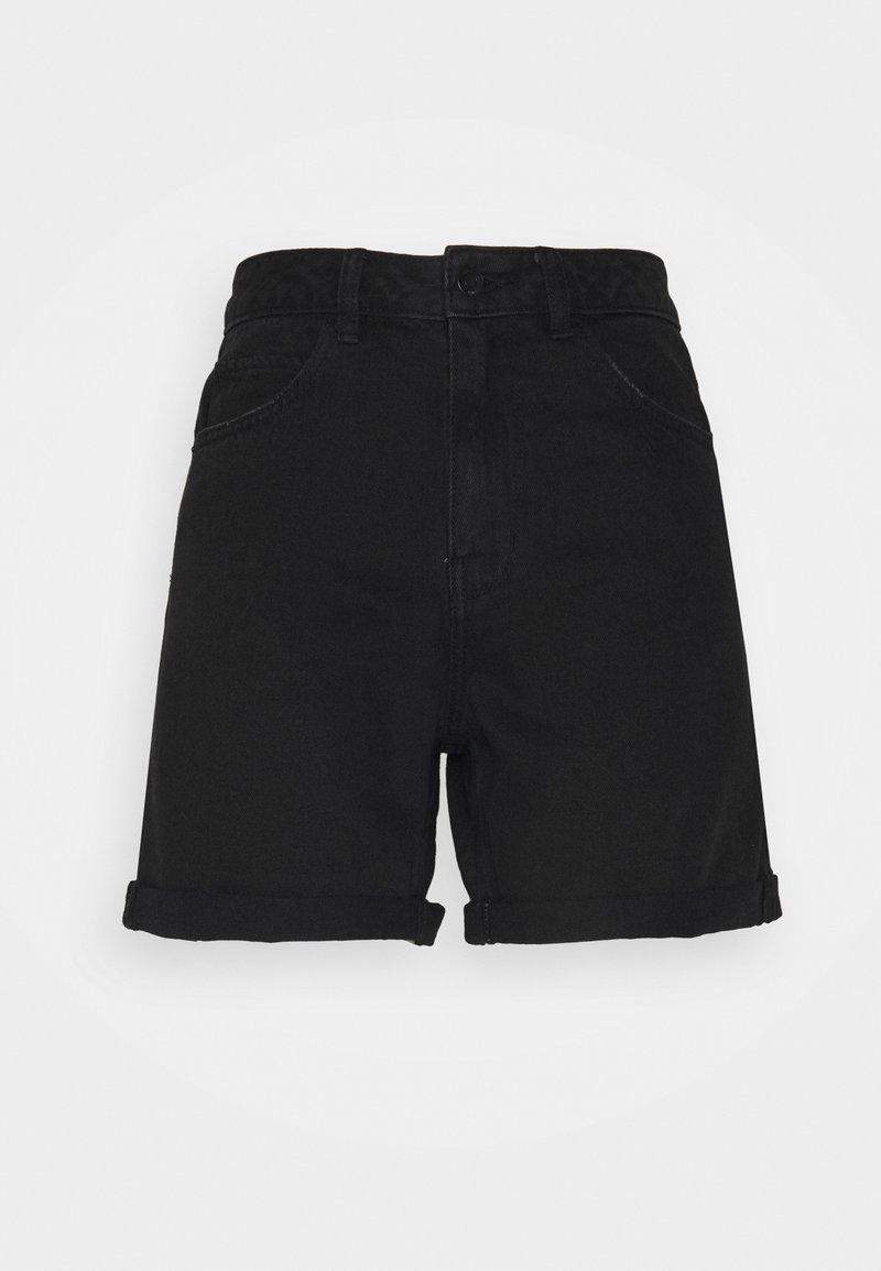 Vero Moda Tall - VMNINETEEN MIX - Shorts di jeans - black