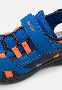 Geox - VANIETT BOY - Sandals - royal/orange - 5