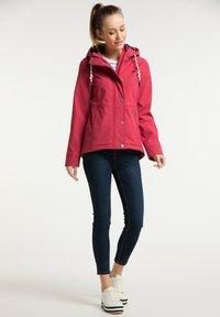 Schmuddelwedda - Soft shell jacket - rot - 1