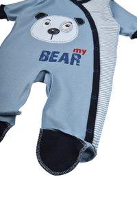 Leo - BABY SET BEAR 4 PACK - Kruippakje - grau/blau - 6