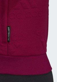 adidas Performance - Sudadera con cremallera - purple - 2