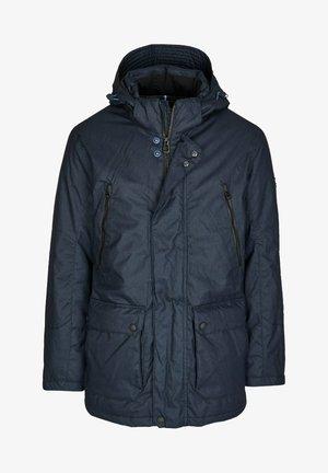 MIT VIELEN DETAILS - Winter jacket - dunkelblau