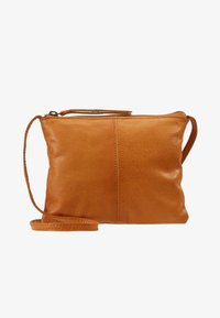Pieces - Across body bag - cognac - 5
