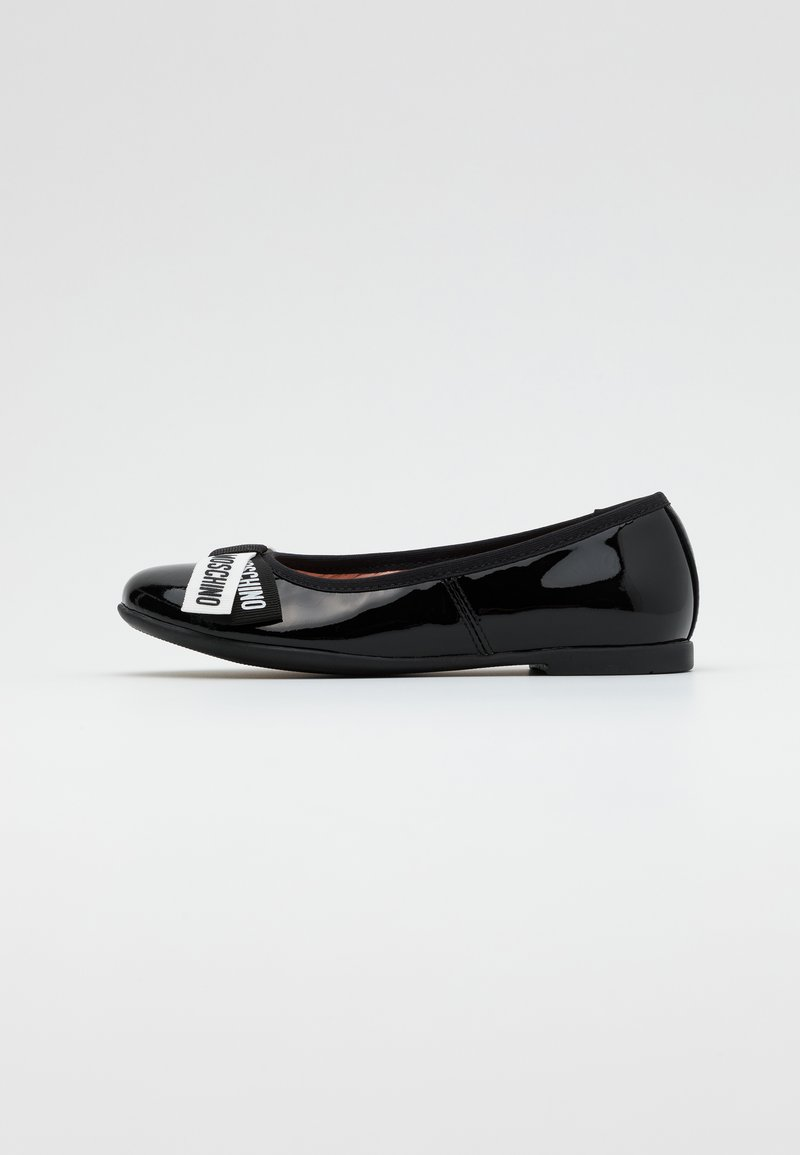 MOSCHINO - Ballet pumps - black