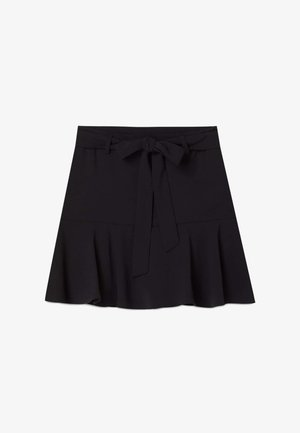 FLIESSENDER  - A-line skirt - black