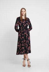 Vero Moda - VMMALLIE SMOCK DRESS - Day dress - black/mallie - 2