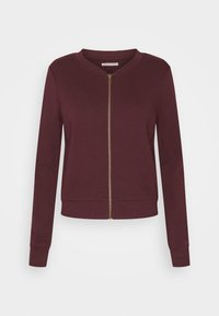 Anna Field - REGULAR FIT ZIP UP SWEAT JACKET - Zip-up hoodie - bordeaux - 5