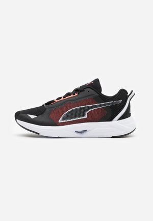 MINIMA  - Zapatillas de running neutras - black/white/energy peach
