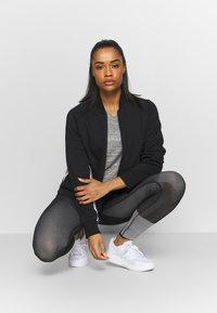 adidas Performance - MUST HAVE ATHLETICS TRACKSUIT JACKET - Sportovní bunda - black/white - 1