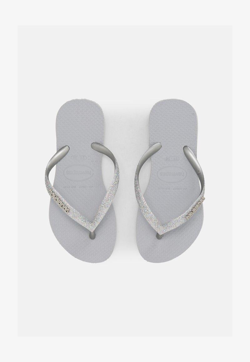 Havaianas - GLITTER II - T-bar sandals - ice grey