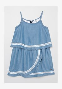 Esprit - Denim dress - blue light wash/blue - 0