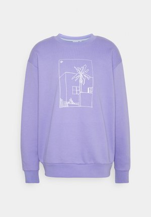 GRAPHIC CREW - Sweatshirt - light purple