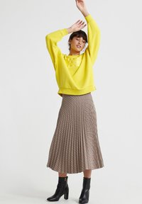 Superdry - A-line skirt - brown - 1