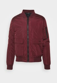 274 - BASEBALL JACKET - Giubbotto Bomber - burgundy - 4
