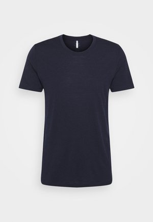 TECH LITE CREWE - T-shirt - bas - midnight navy