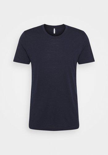 TECH LITE CREWE - Basic T-shirt - midnight navy