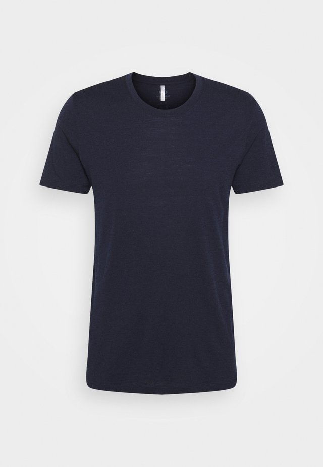 TECH LITE CREWE - T-shirts - midnight navy
