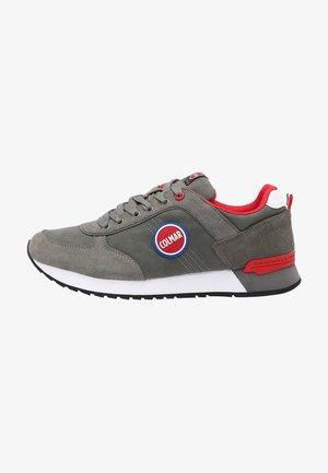 Sneakers laag - dark grey  red
