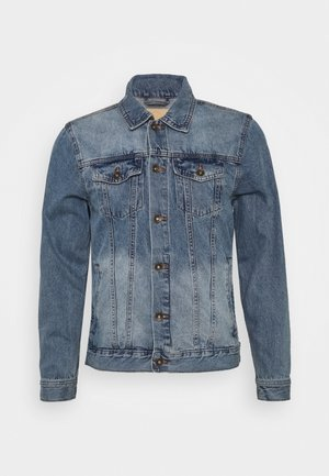 RODEO JACKET - Džínová bunda - distressed blue