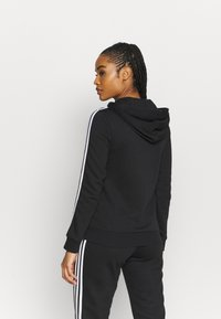 adidas Performance - veste en sweat zippée - black/white - 2