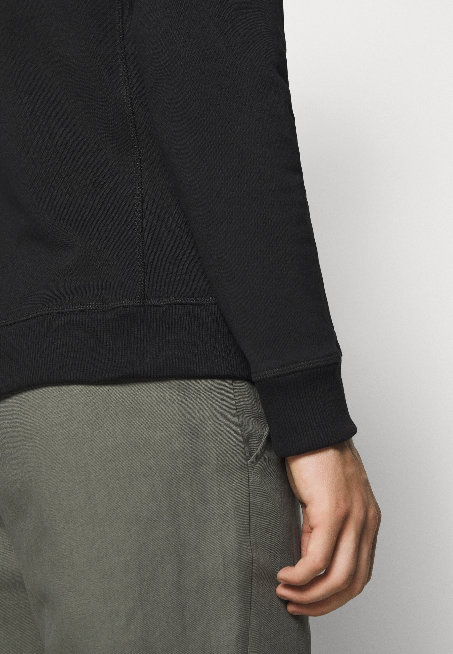 Les Deux LENS - Sweater - black/white  Heren Truien & vesten wd4c3
