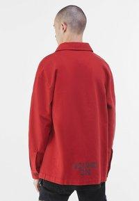 Bershka - Summer jacket - red - 2