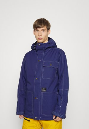 SERVO JACKET - Snowboard jacket - blue