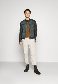 Be Edgy - ANDY  - Leather jacket - indigo - 1