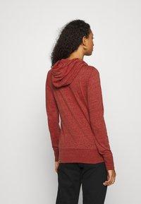 Ragwear - PAYA - Zip-up sweatshirt - red - 2