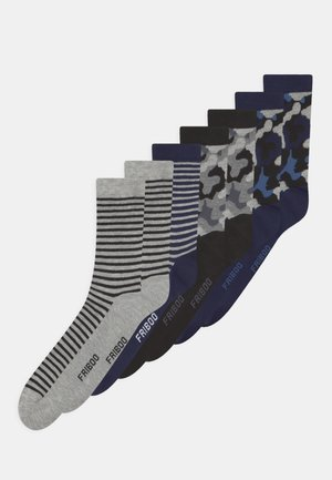 7 PACK - Sokken - black/blue/grey