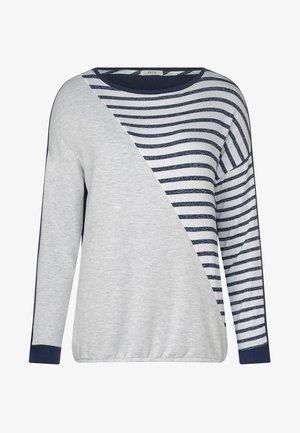 Long sleeved top - dark blue