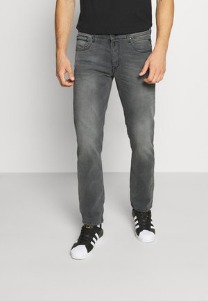 GROVER - Straight leg jeans - medium grey