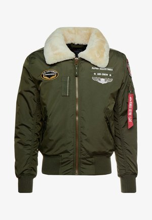 INJECTOR  AIR FORCE - Bomber Jacket - dark green