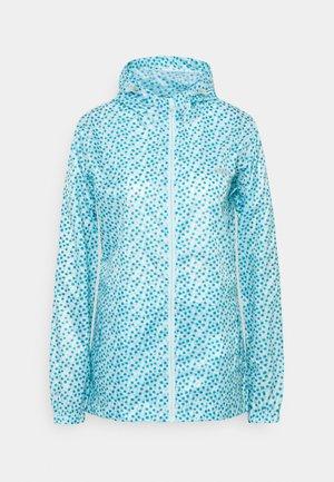 PACK IT - Waterproof jacket - cool aqua