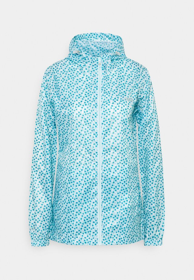 PACK IT - Veste imperméable - cool aqua