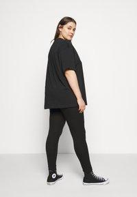 Missguided Plus - 2 PACK - Leggings - Trousers - black - 2